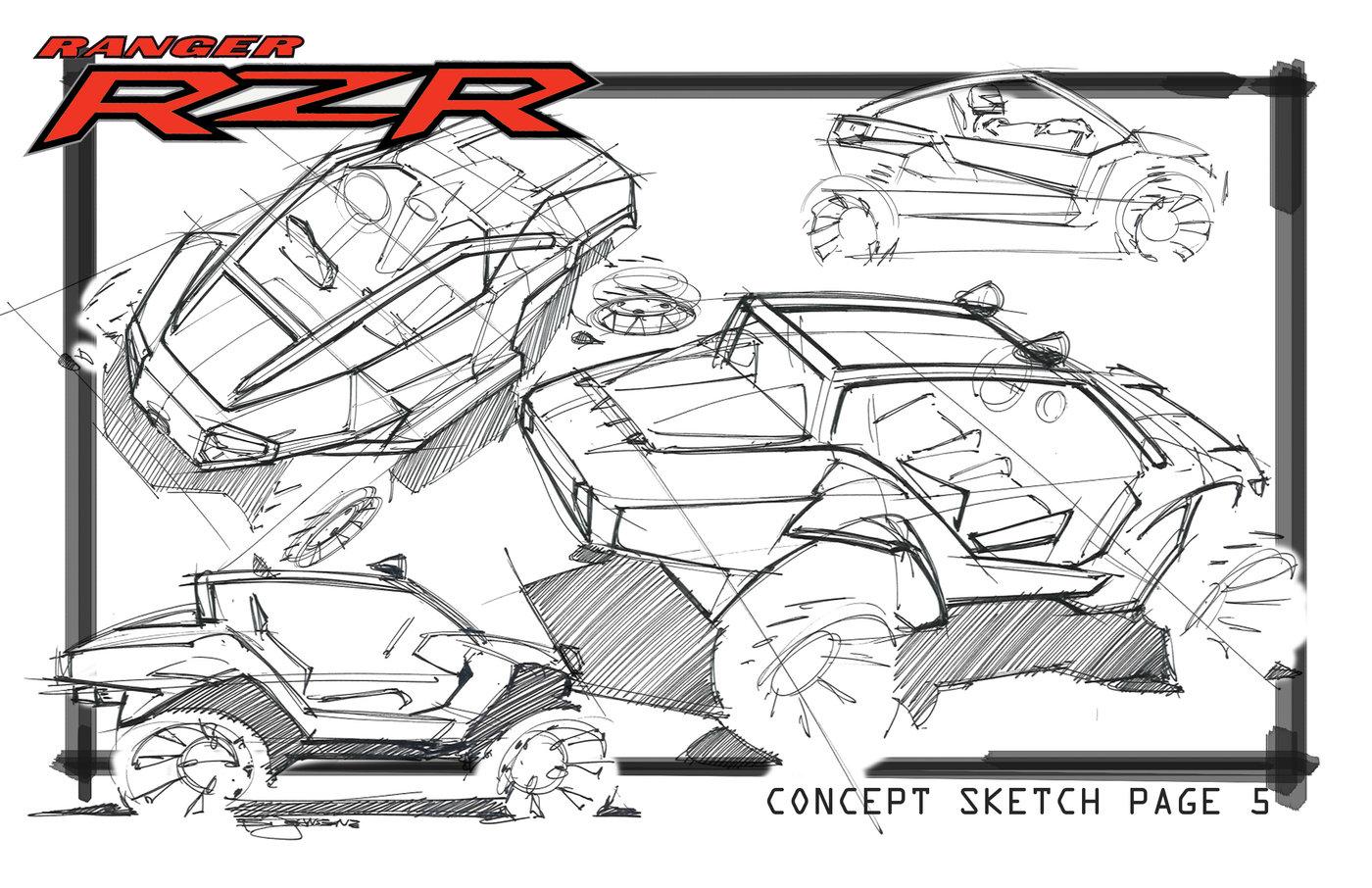 RZR sketches by Bryan Johnson at Coroflot.com