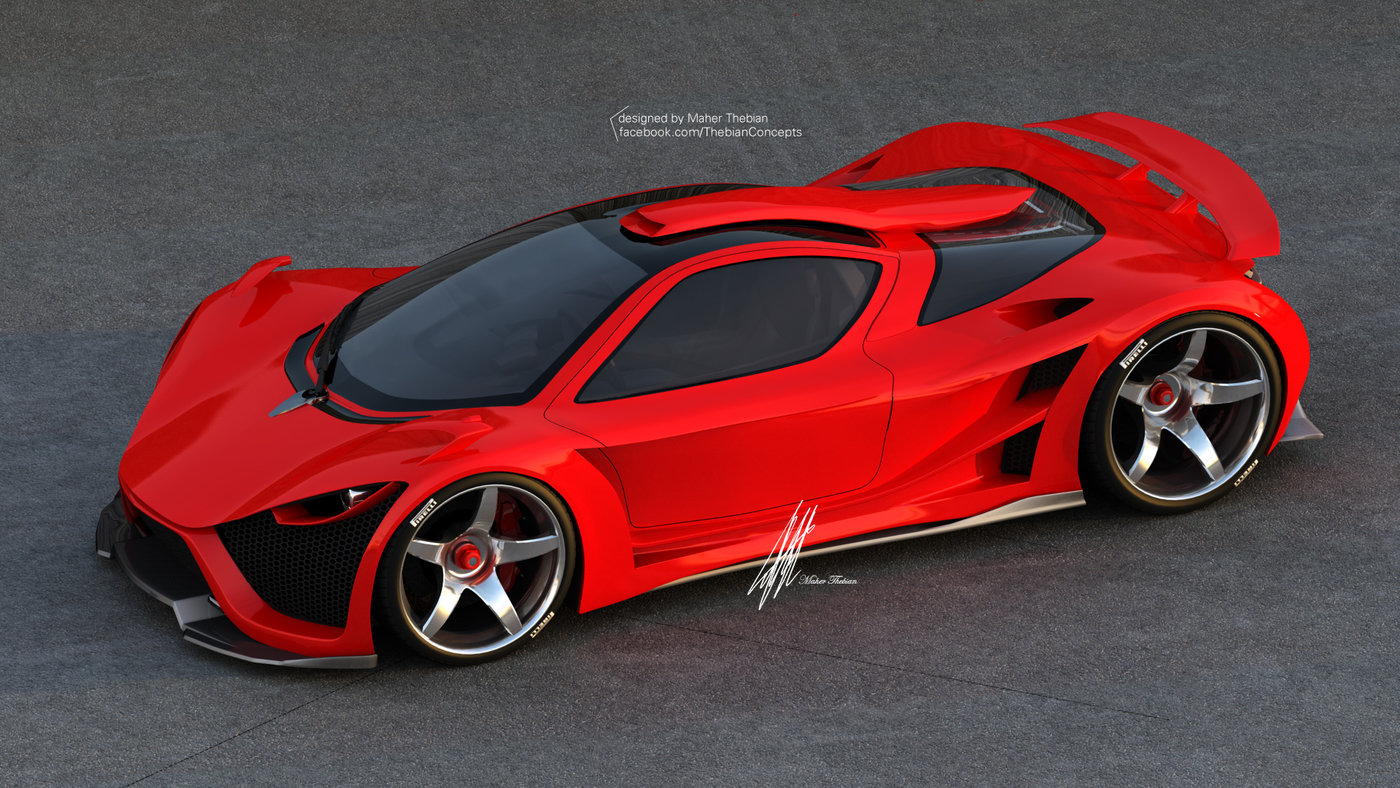Scorpion Supercar By Maher Thebian At Coroflot Com