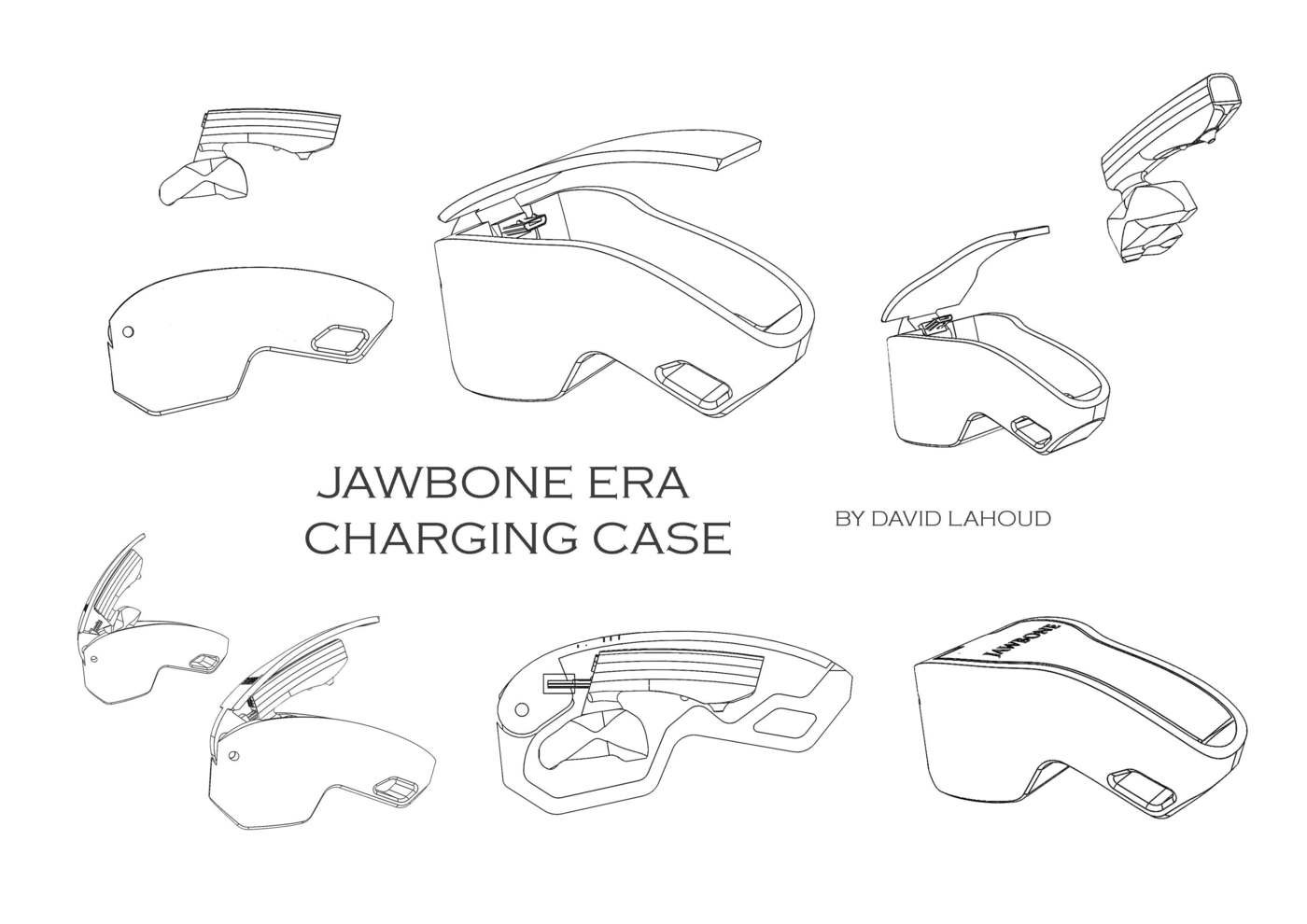 Jawbone Era Charging Cradle by David Lahoud at Coroflot.com