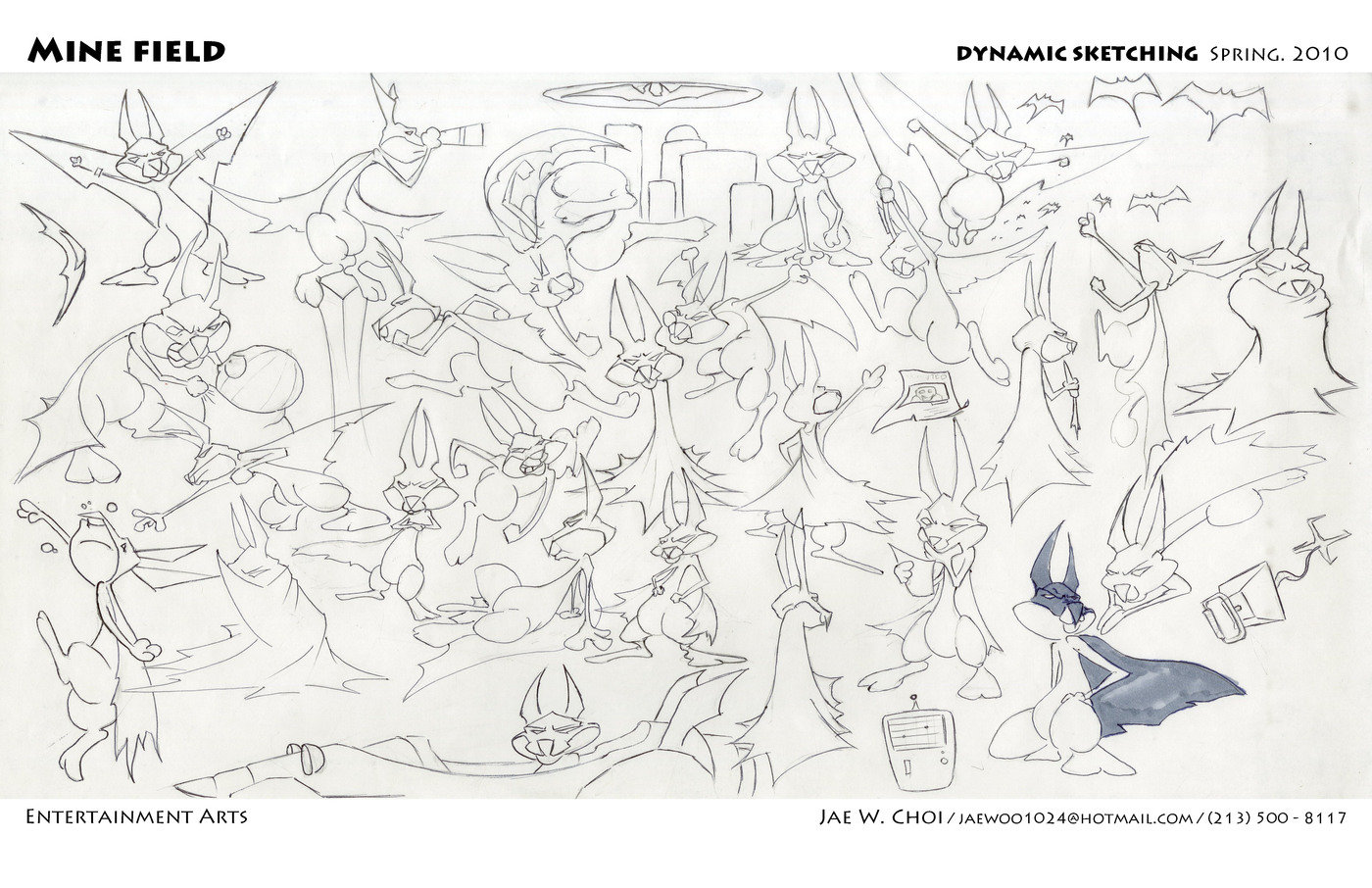 Quick Sketch by Jae Woo Choi at Coroflot.com