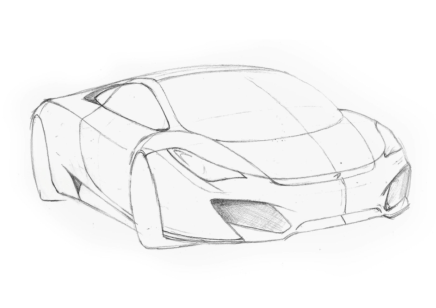 Car Sketches By Marc Capdevila Sitri At Coroflot