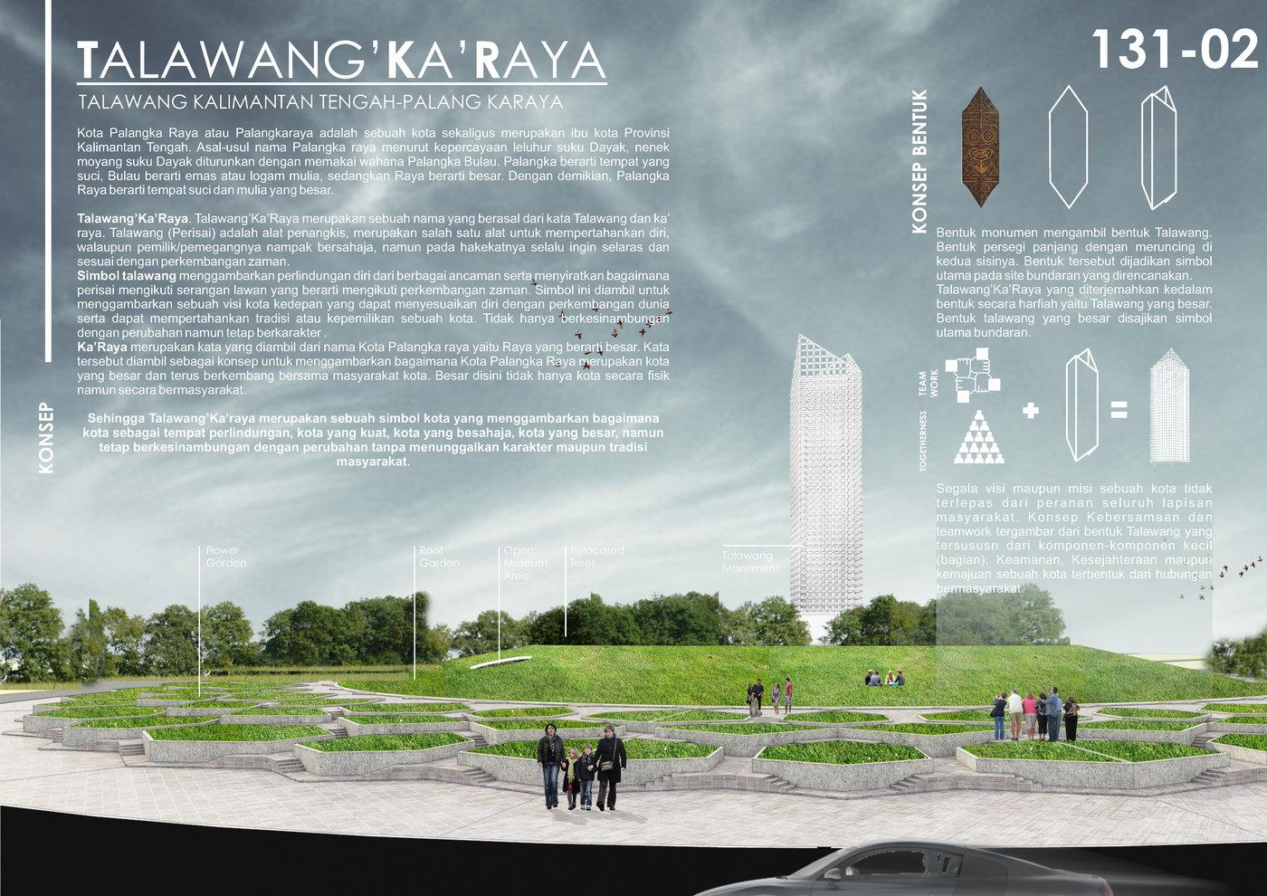SAYEMBARA DESAIN MONUMEN BUNDARAN BESAR PALANGKA RAYA by