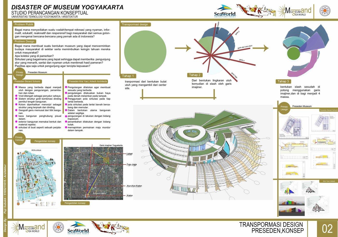 Studio perancangan arsitektur 6 by Puji Subekti at