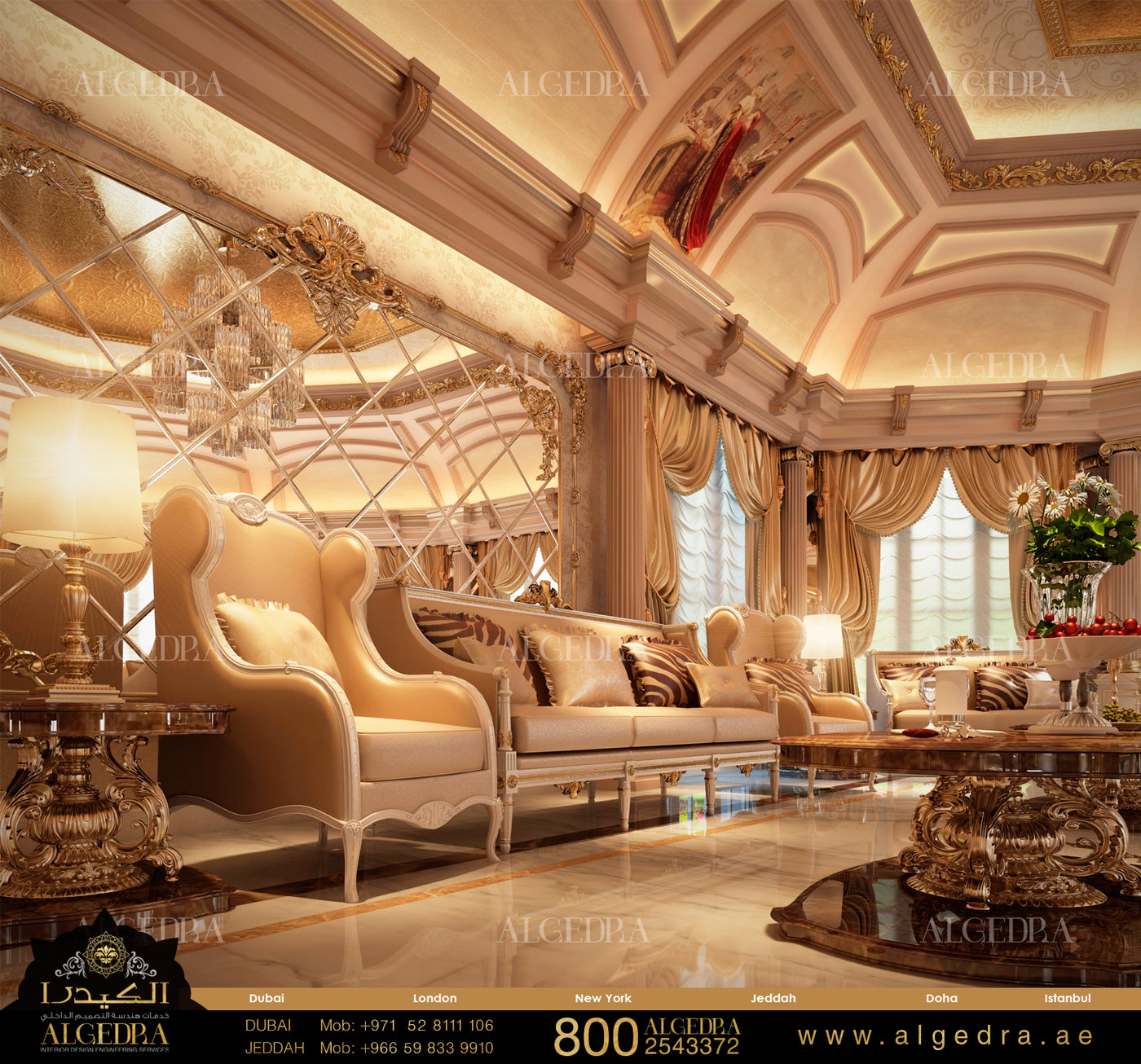 Algedra Interior Design Dubai United Arab Emirates