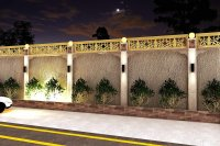 boundary wall design by Israr Ahmed at Coroflot.com