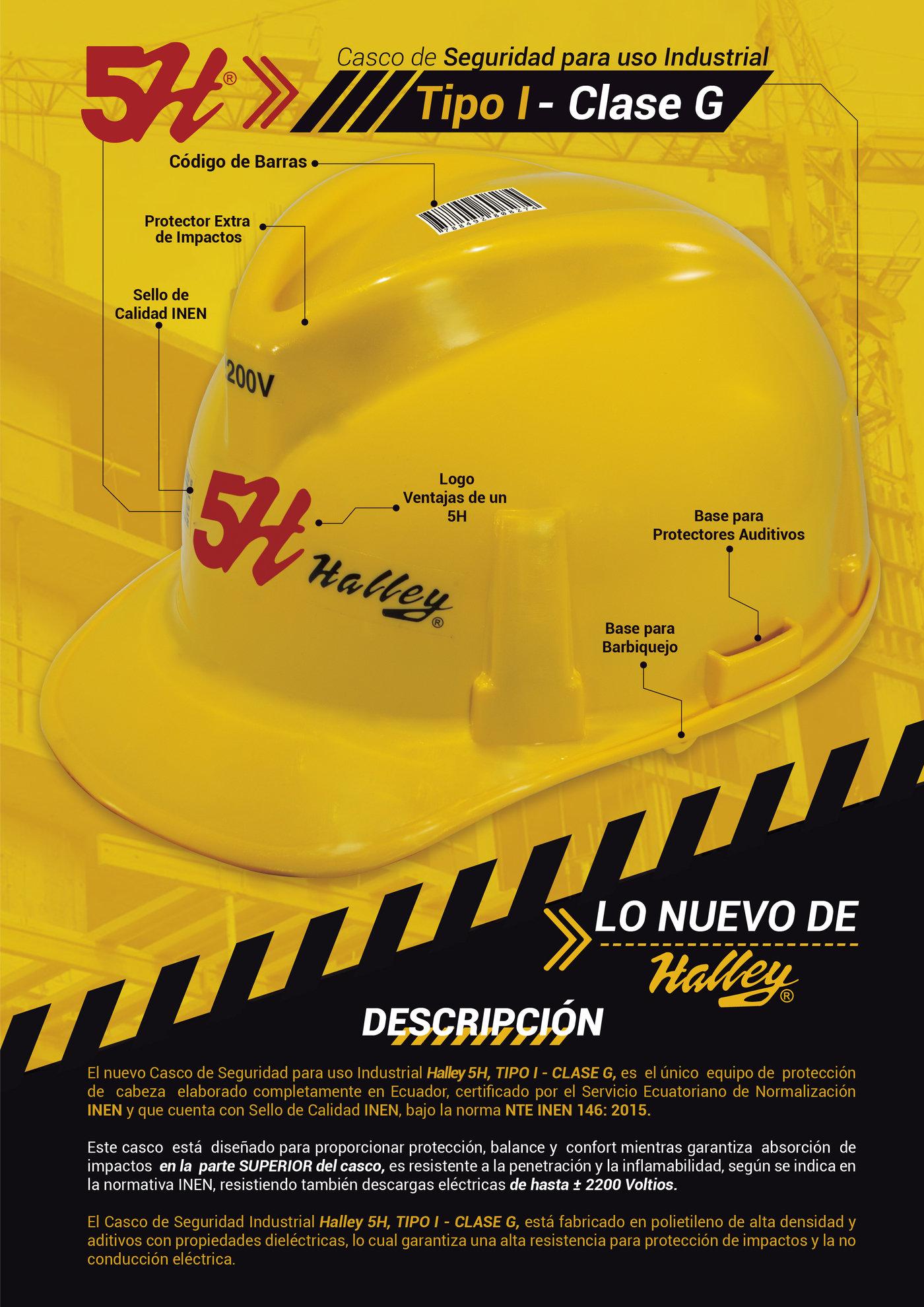 FICHA TCNICA CASCOS DE SEGURIDAD INDUSTRIAL by Bryan Castillo at Coroflotcom