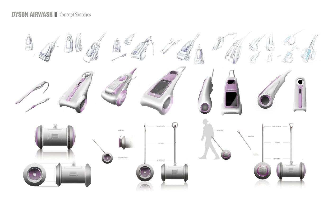 Dyson pressure washer by Ziyao Wang at Coroflot.com
