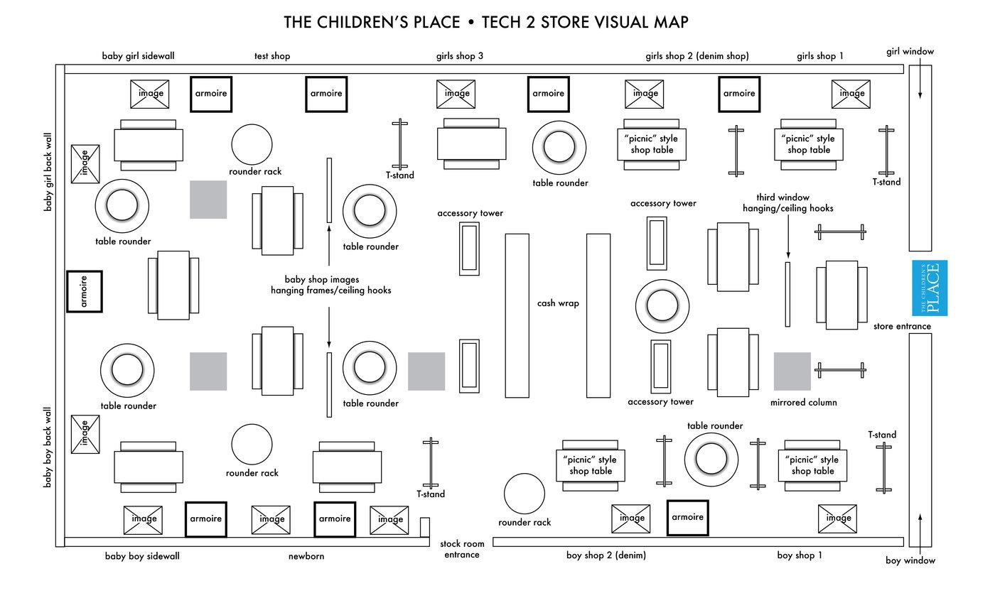 Tcp Planogram Schematic By Phil Lebloas At Coroflot
