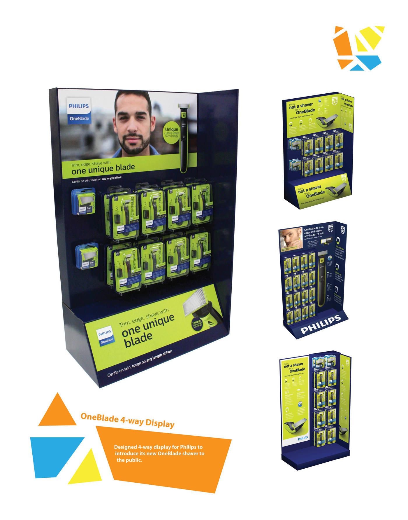 3 way displays free printable basketball court diagrams philips oneblade 4 display by heng sun at coroflot