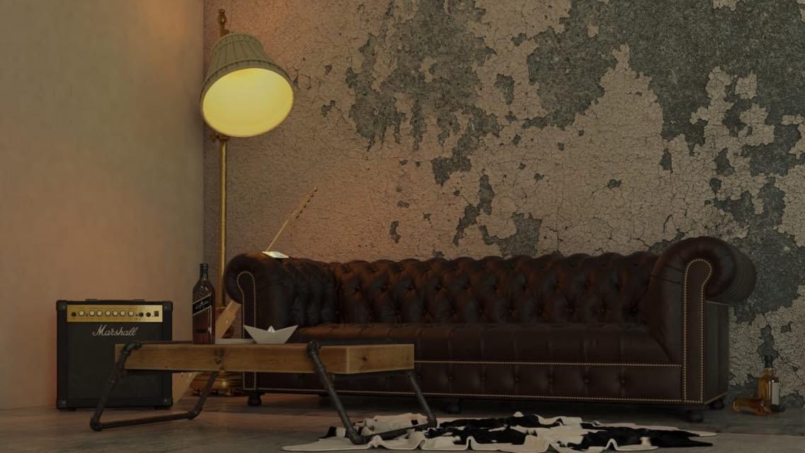 vintage room by ivan