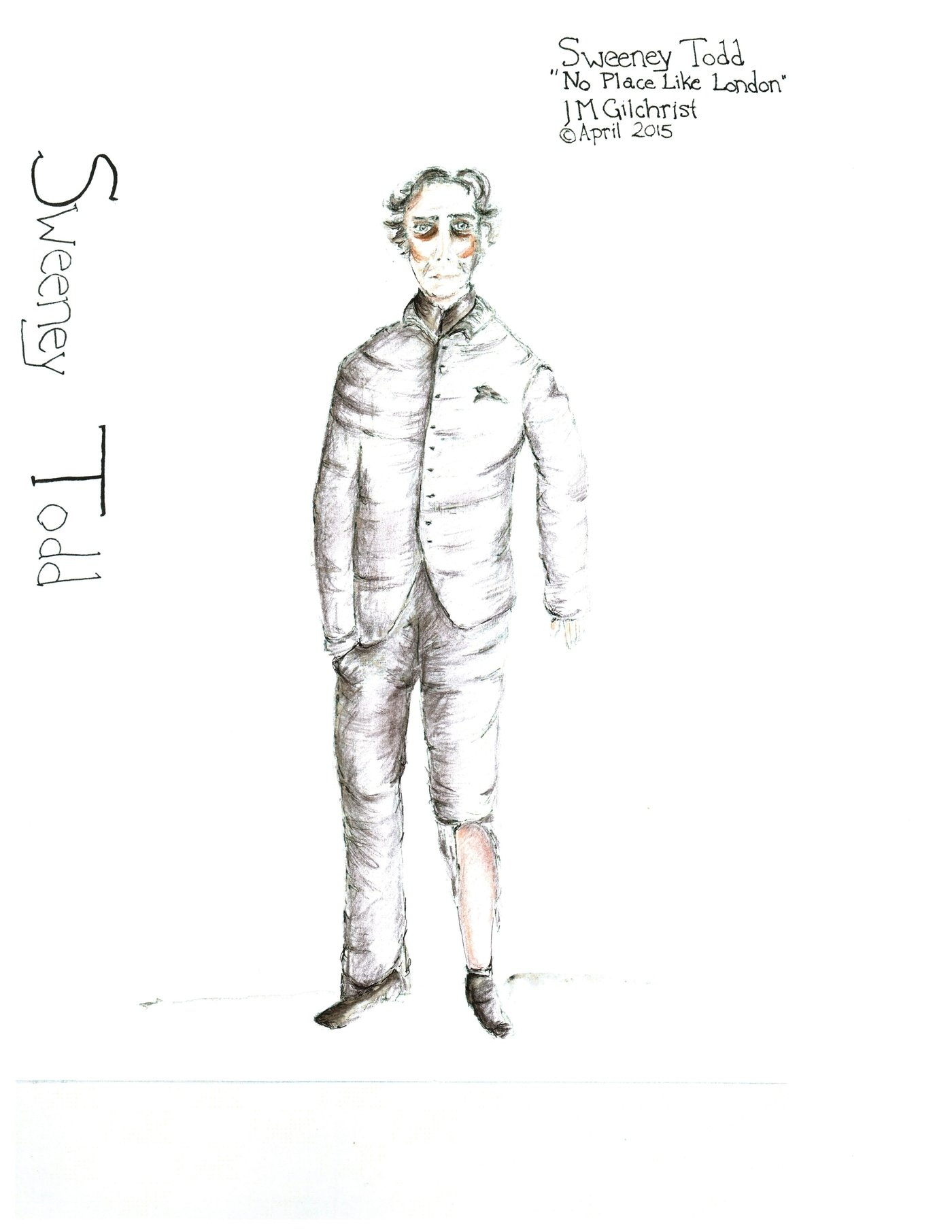Sweeney Todd Costume Designs By Jacqueline Gilchrist At