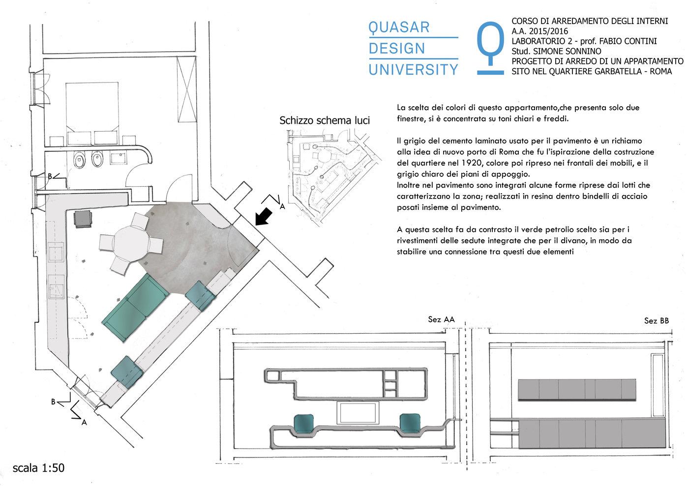 corso erogato in lingua italiana. Apartament Restoration In Garbatella Rome By Simone Sonnino At Coroflot Com
