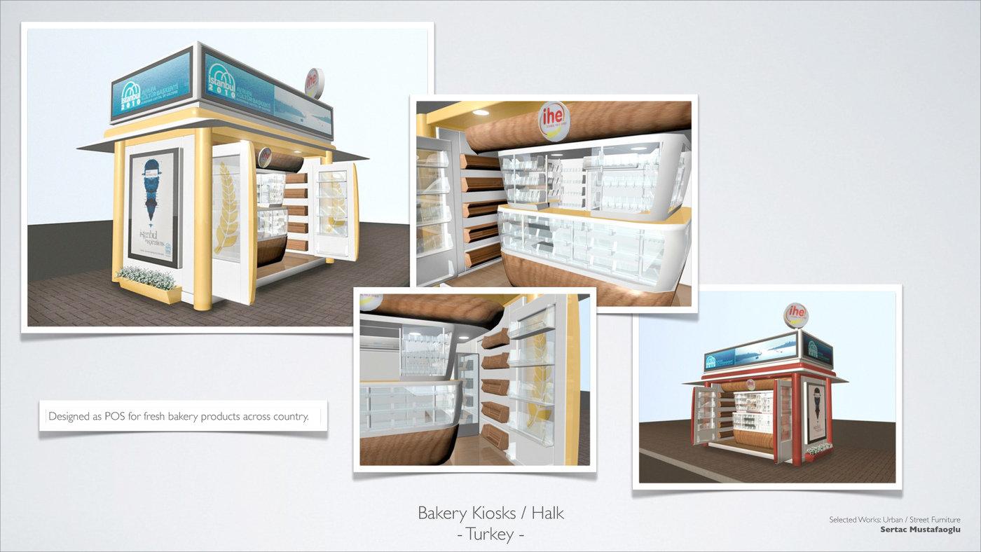 Bakery POS Kiosk Design by Sertac Mustafaoglu at Coroflotcom