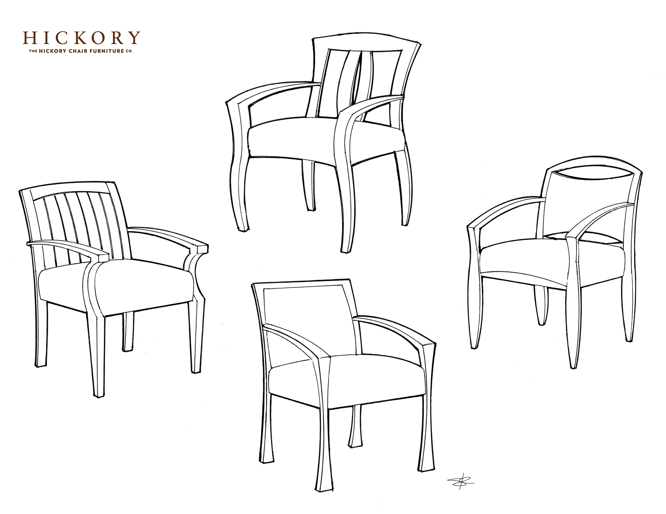 Contract & Hospitality Seating by Steven Krause at