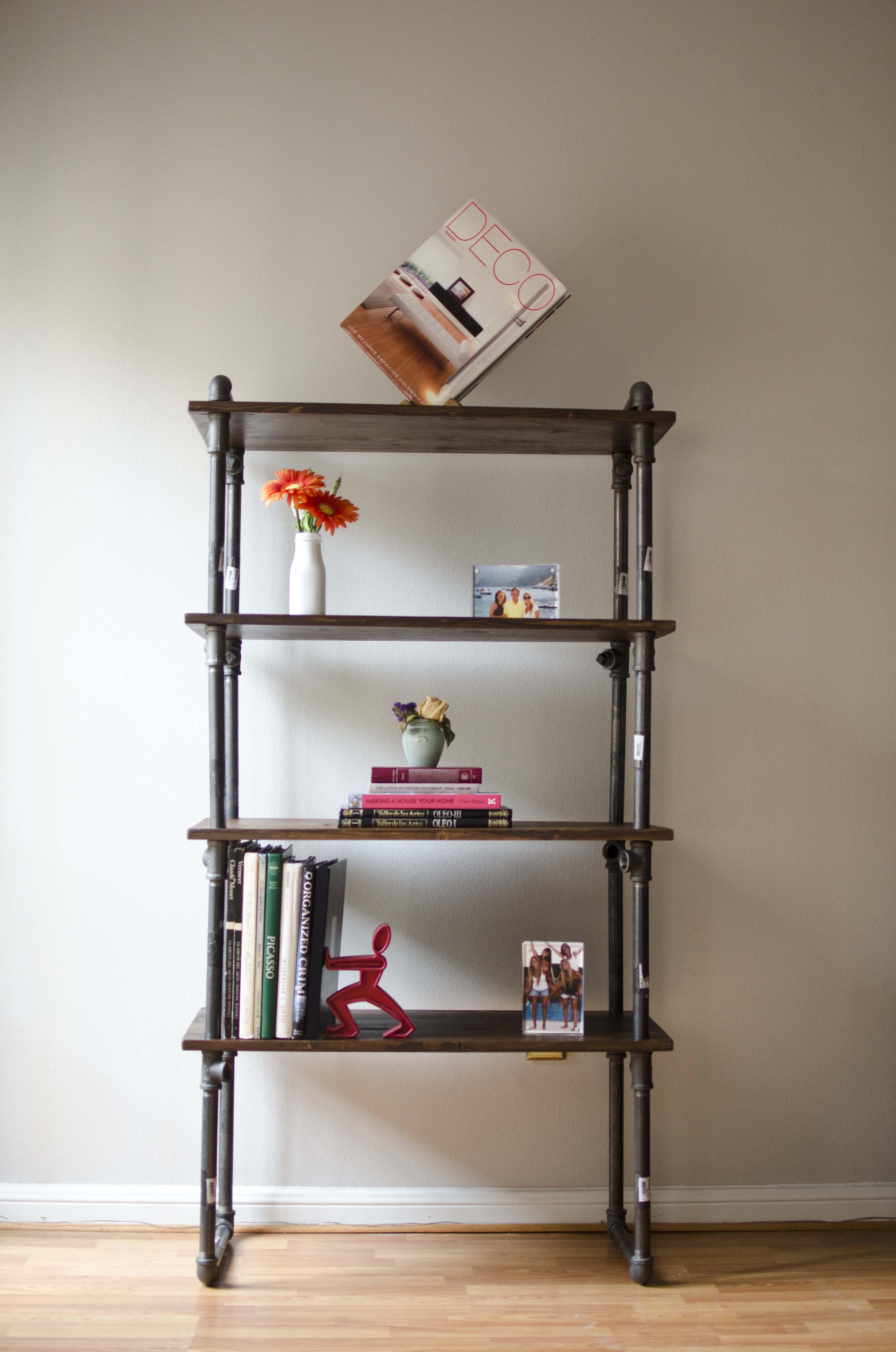 Gas Pipe Furniture Shelf By Juan Boada At