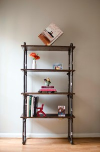 Gas Pipe Furniture - Shelf by Juan Boada at Coroflot.com