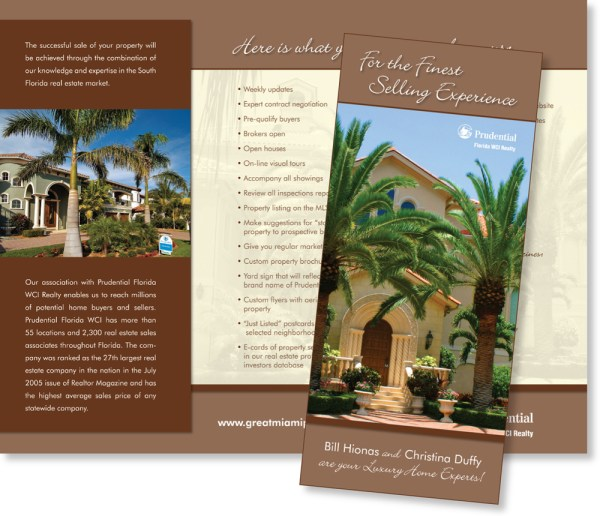 Personal Real Estate Agent Brochure - Year of Clean Water
