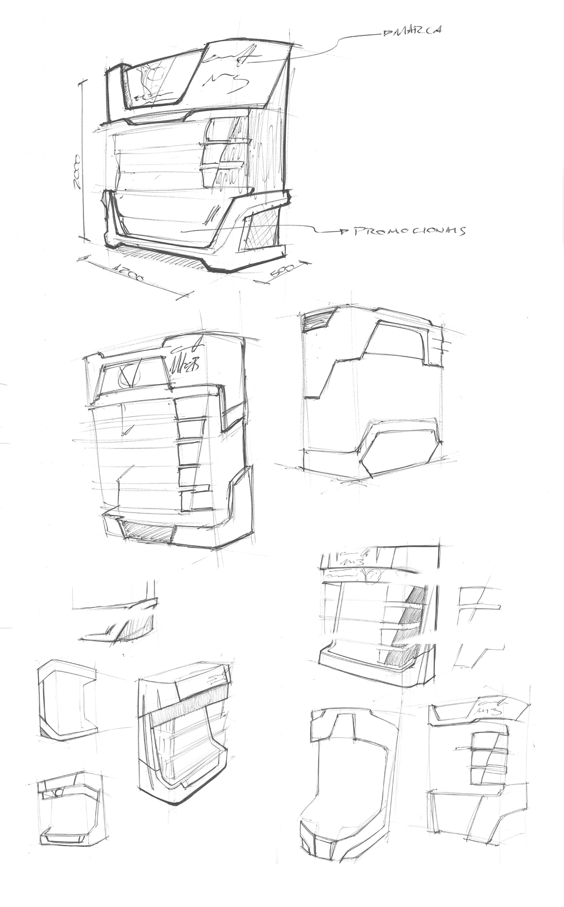 Gillette Mach3 by Henrique Xavier at Coroflot.com