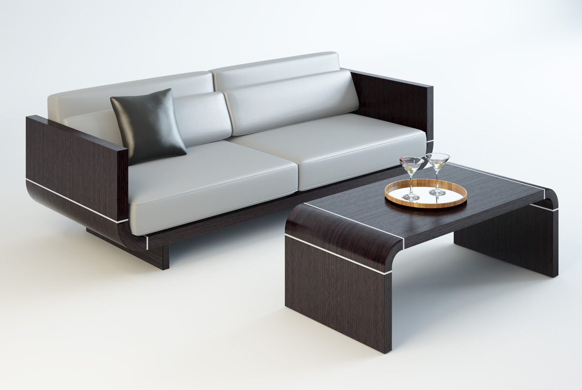 Chairs & Sofas design by Yury Sysoev at Coroflot.com