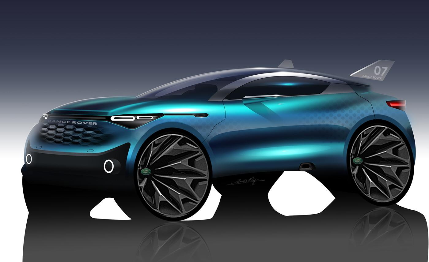 Rangerover Suv Concept Design By Boris Wang At Coroflotcom