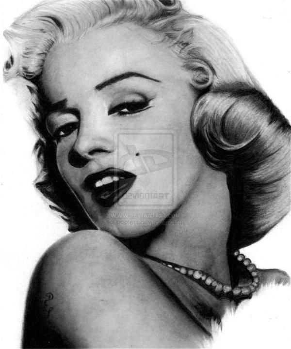 Pencil Portraits Of Movie Stars Debbie Engel