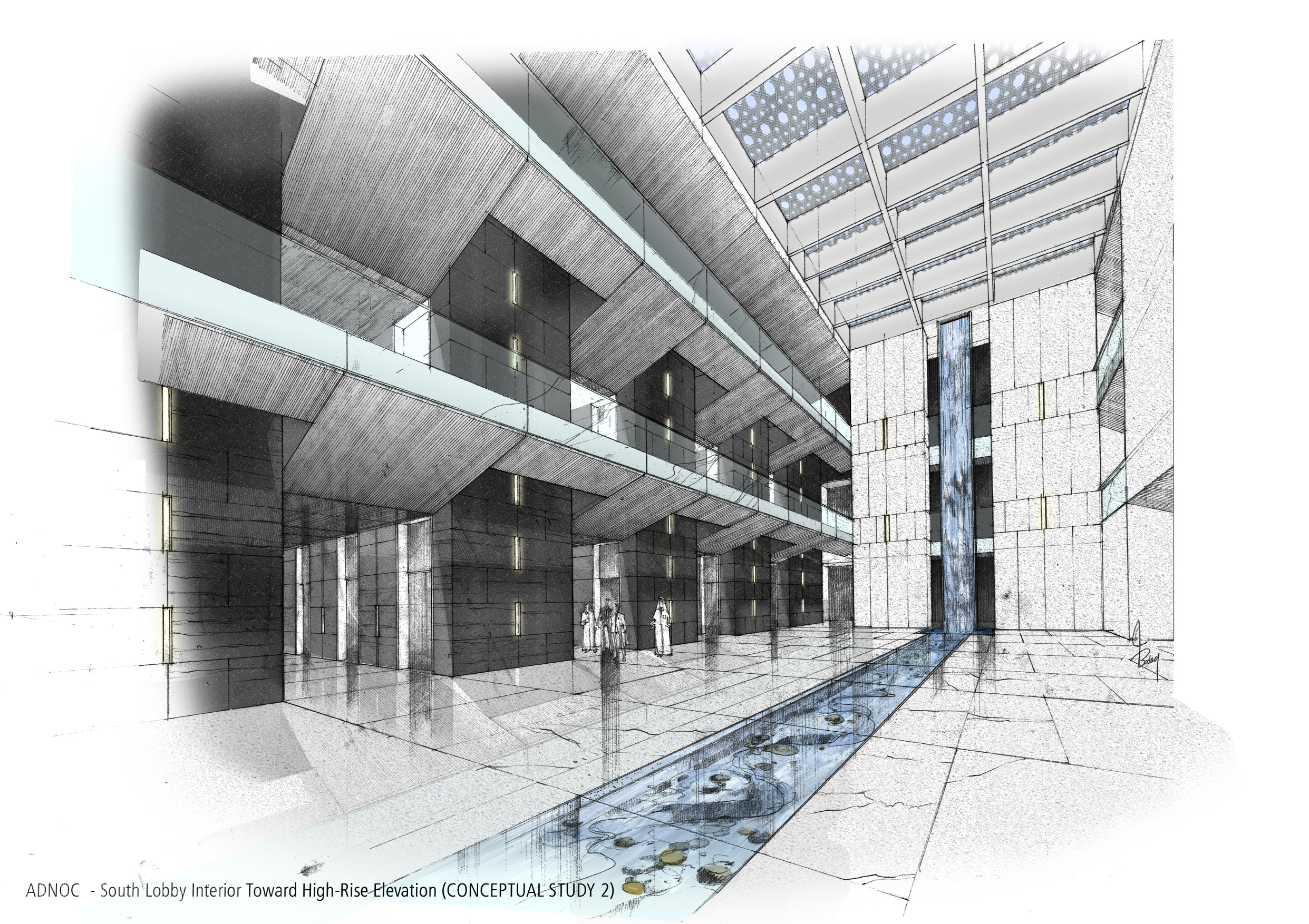 Architectural Sketches By Collin Byrnes At Coroflot