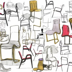 Chair Industrial Design Punisher Skull Adirondack Sketches And Other Works By Chet Larrow At Coroflot