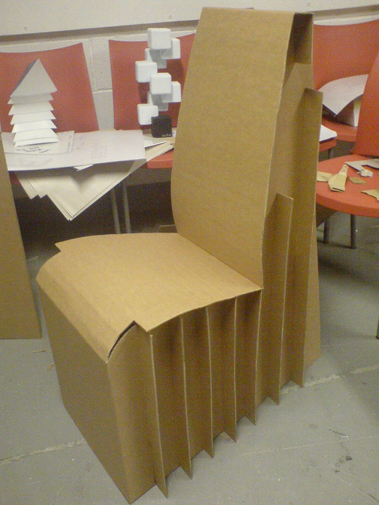 wheelchair project fisher price kids table and chairs cardboard chair by liam howard at coroflot
