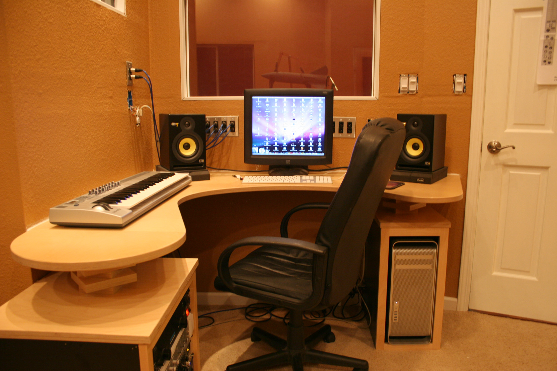Recording Studio Desk by Ryan Silva at Coroflotcom