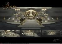 Set Design Stage For Wedding