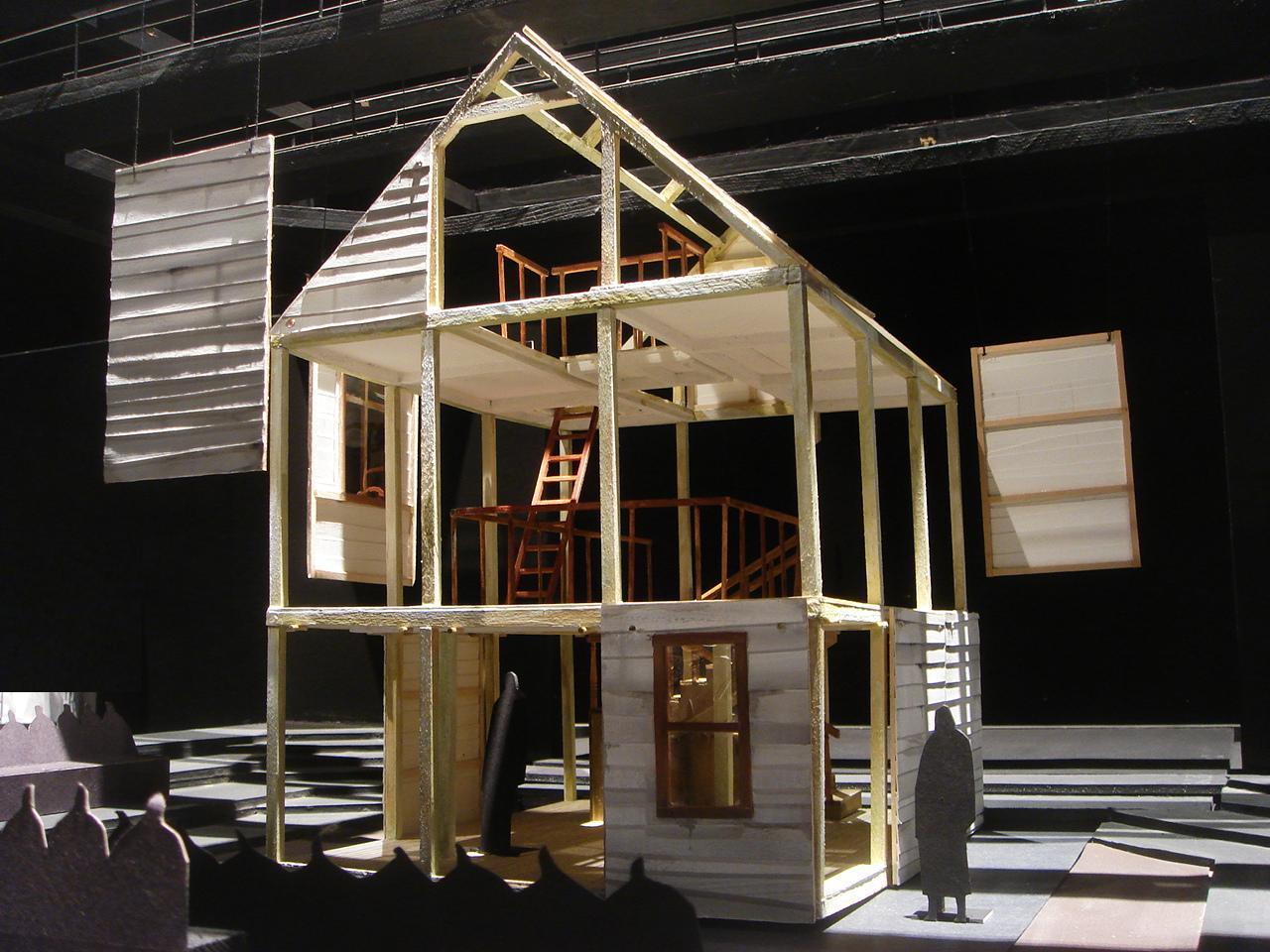 Set Design Project Death Of A Salesman By Naomi Kasahara