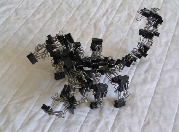 Binder Clip Sculpture