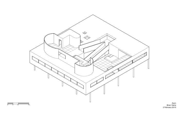 Le Corbusier Villa Savoye Diagrams