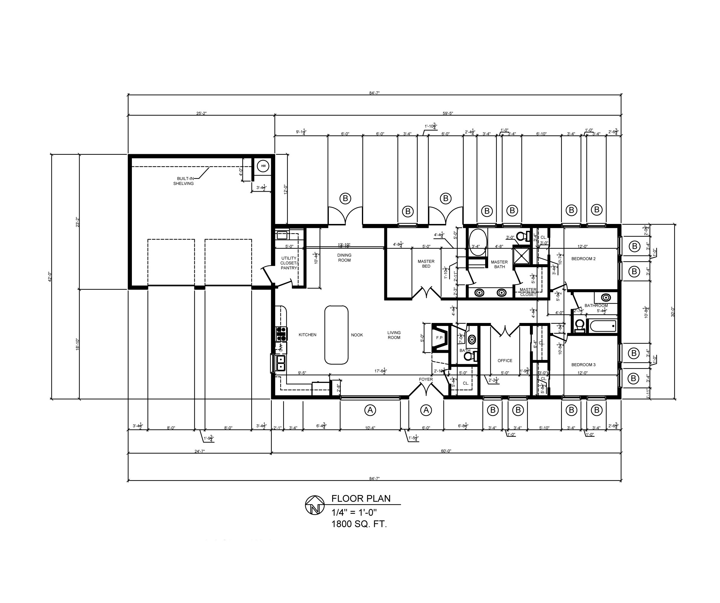 AutoCAD Architectural Drawings by Steven Paulsen at