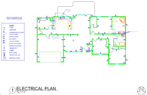 small resolution of residential electrical plan note