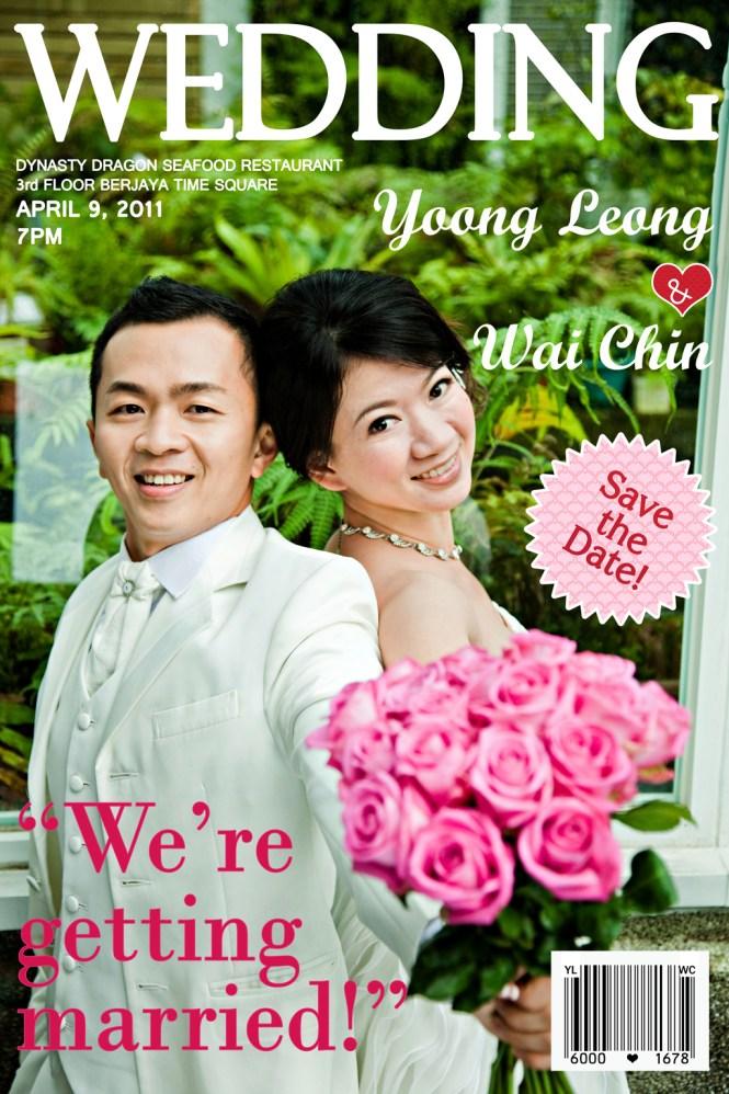 Wedding Magic Magazine Printable Invitation Template