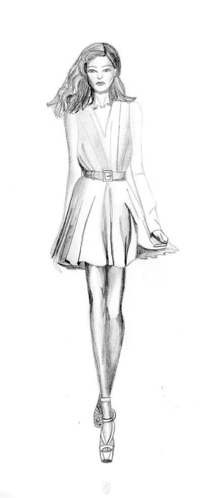 Illustrations & Sketches by Jillian Beck at Coroflot.com