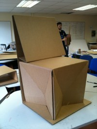 Cardboard Chair No Glue   www.imgkid.com - The Image Kid ...