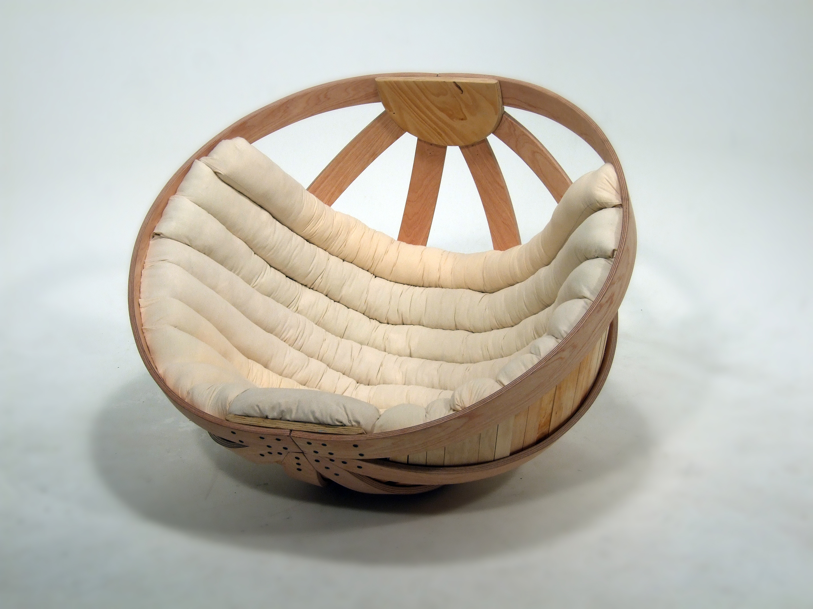 Round Comfy Chair Cradle By Richard Clarkson At Coroflot