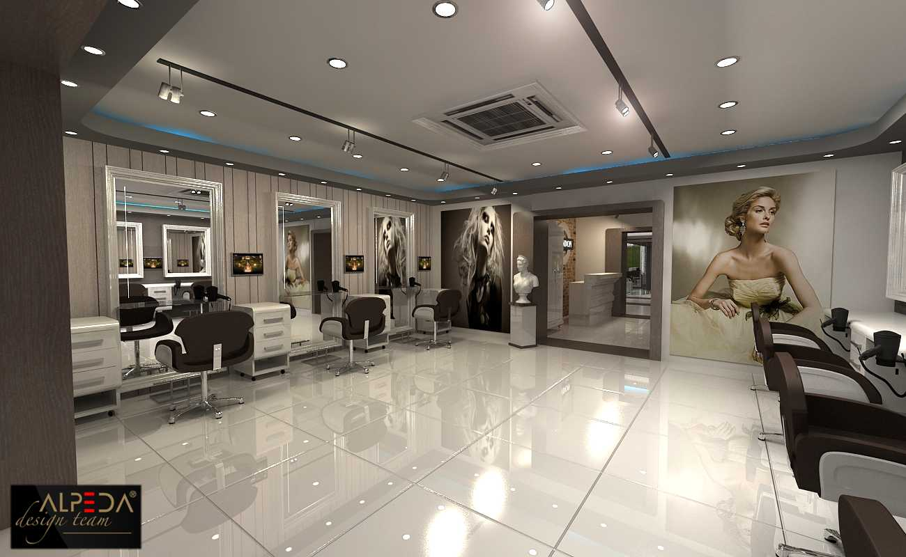 Coiffure Salon Design by Onur Yurttas at Coroflotcom