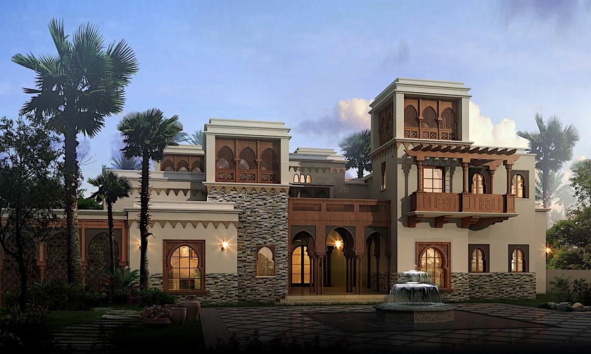 Arabic Style Villa Section 02 By Dheeraj Mohan At Coroflot Com