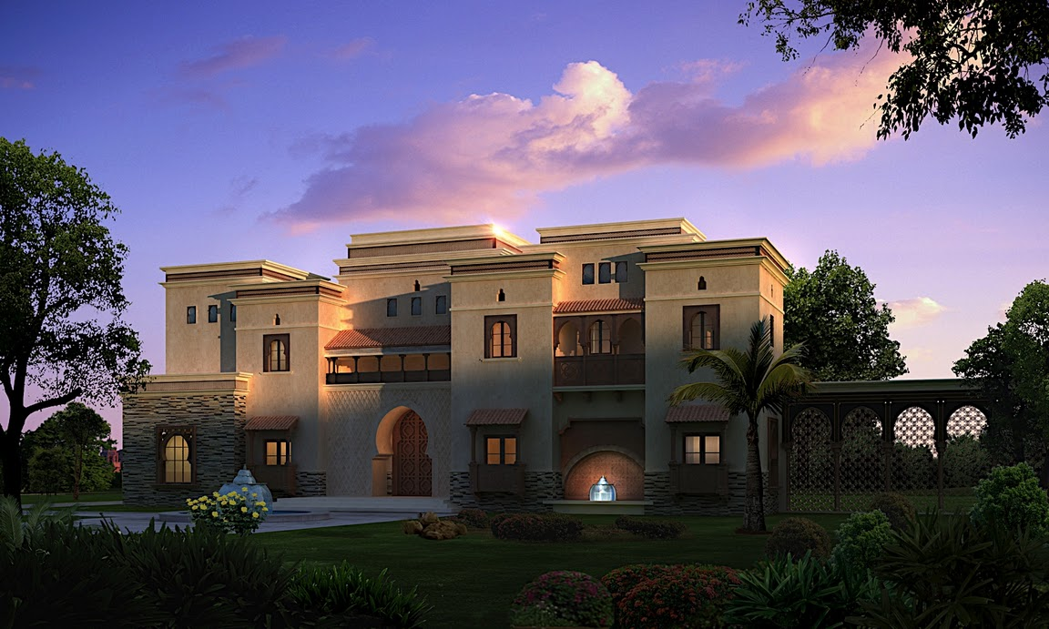 Arabic Style Villa Section 02 By Dheeraj Mohan At