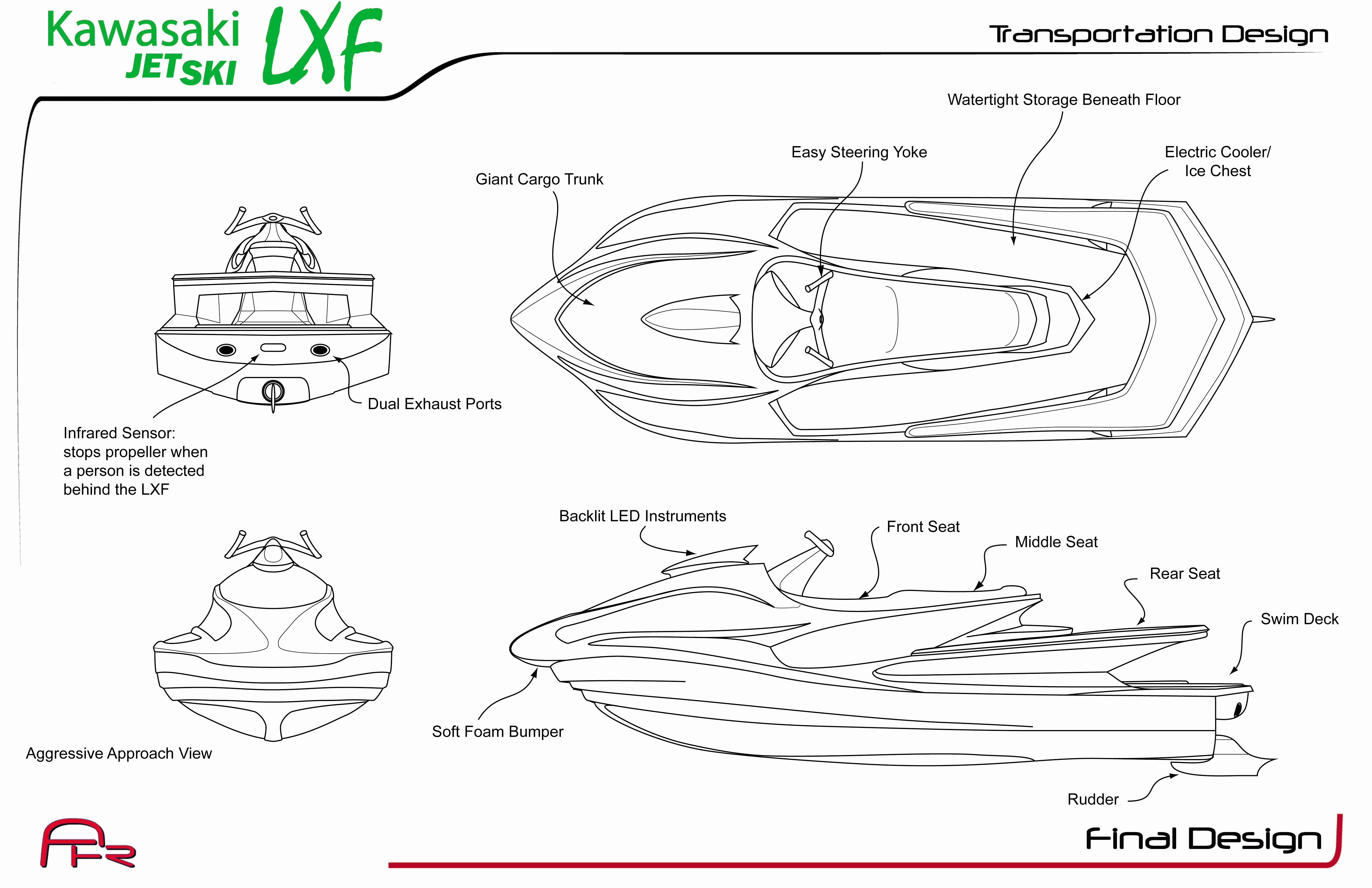 Jet Ski Lxf By Alexandar Hull Richter At Coroflot