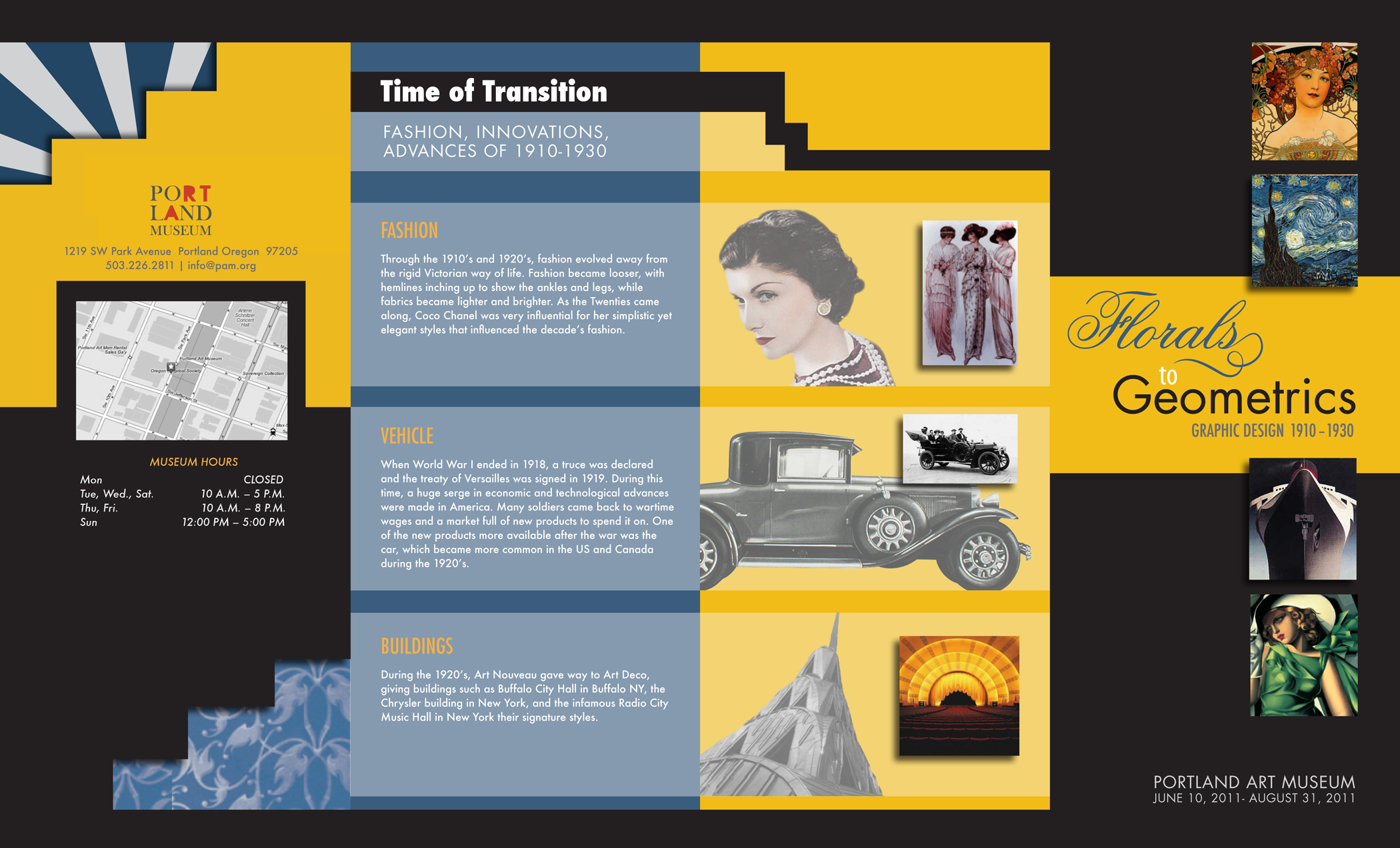 MUSEUM BROCHURE Latest Information