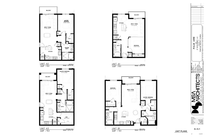 MSA-Palm Aire Residences by Anthony Freedman at Coroflot.com