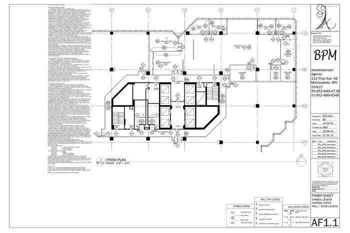Interior Design Construction Documentation by Ashley Krant