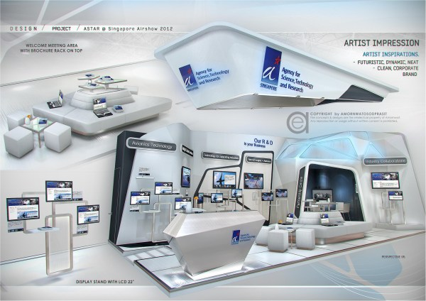 Exhibition Design - Special Booth Amornwat Osodprasit