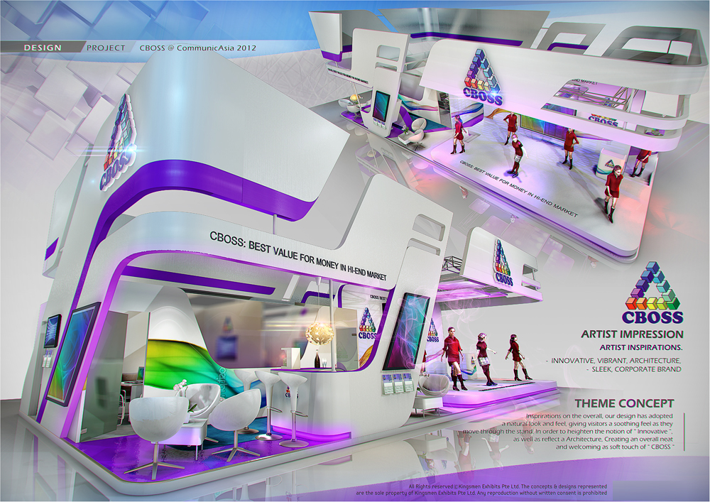 EXHIBITION DESIGN Special Booth By AMORNWAT