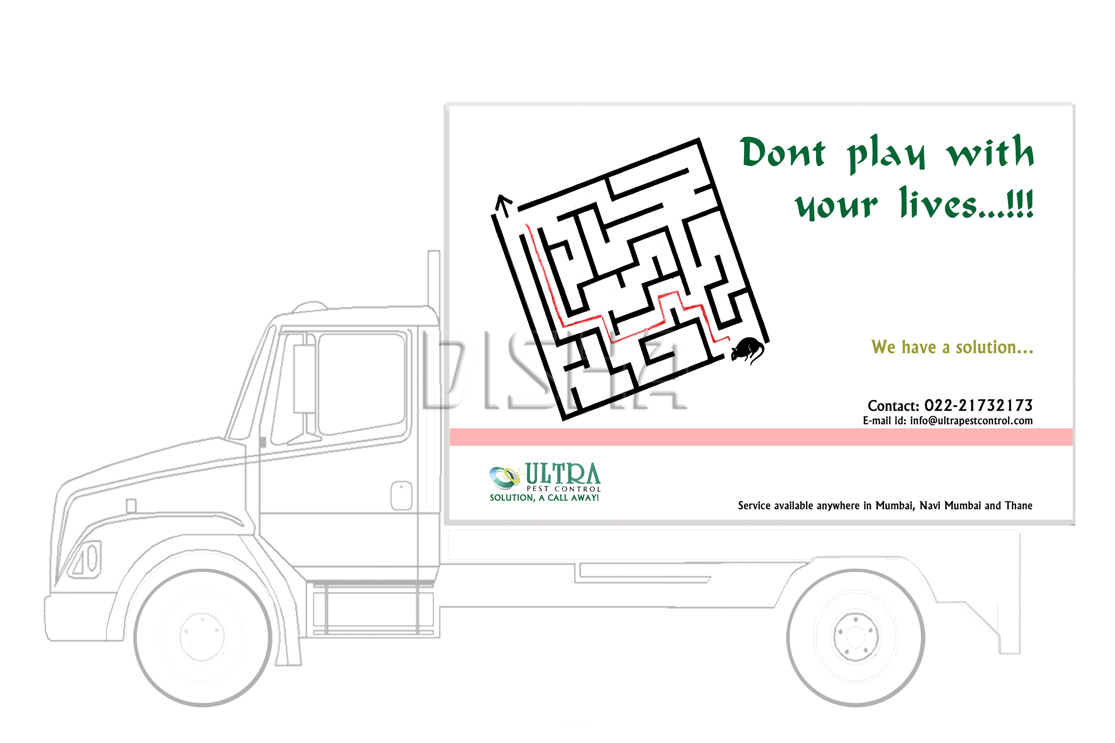 Ultra pest control campaign by disha haria at Coroflot.com