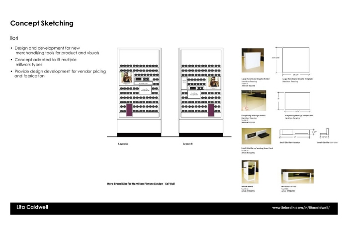Visual Merchandising Concepts and Design by Lita Caldwell